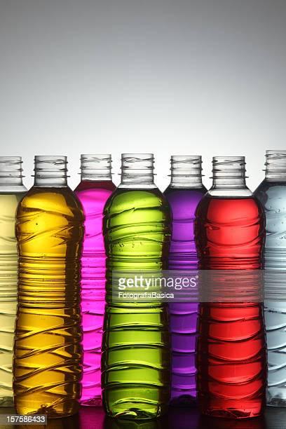 Multicolored liquids