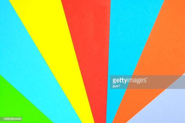 multicolored paper - multi colored background stock pictures, royalty-free photos & images