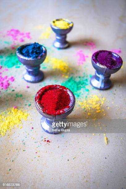 Multi-Colored Powder Paint