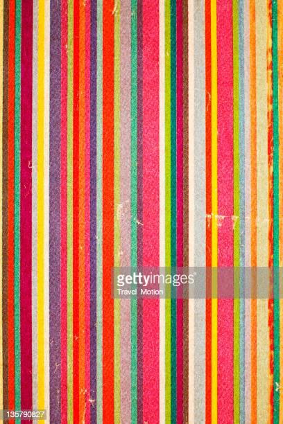 Fondo de papel rayado multicolored patrón de rayas