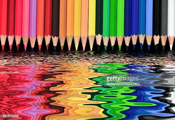 Multi-colored world