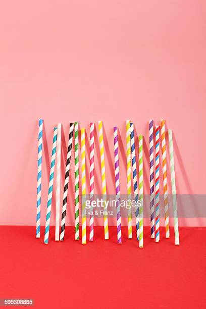Multicoloured  Dinking Straws