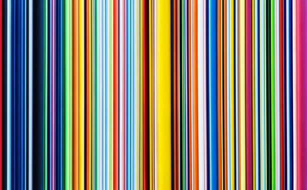 multicoloured stripes - 彩色影像 個照片及圖片檔