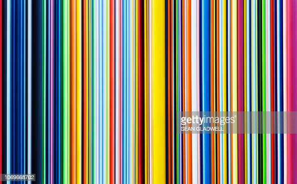 multicoloured stripes - bontgekleurd stockfoto's en -beelden
