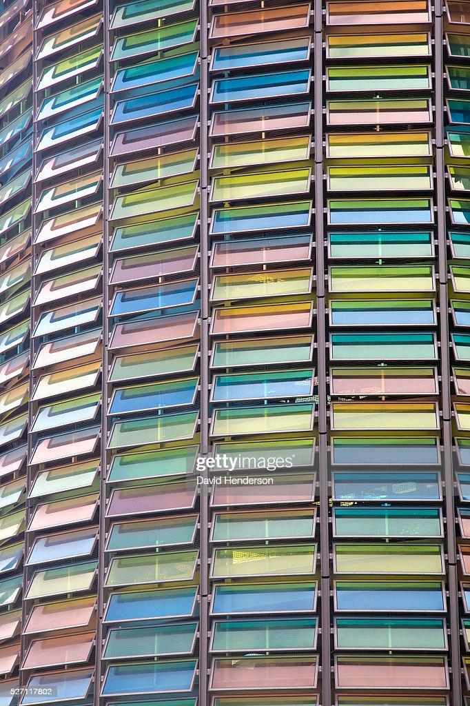 Multicoloured windows : Stock Photo