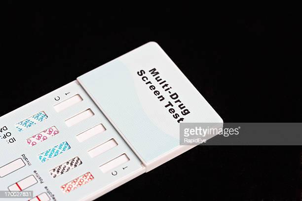 Multi-drug screening kit for testing urine