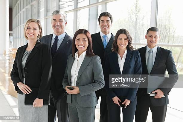 Multiethnische Business-Team im Büro