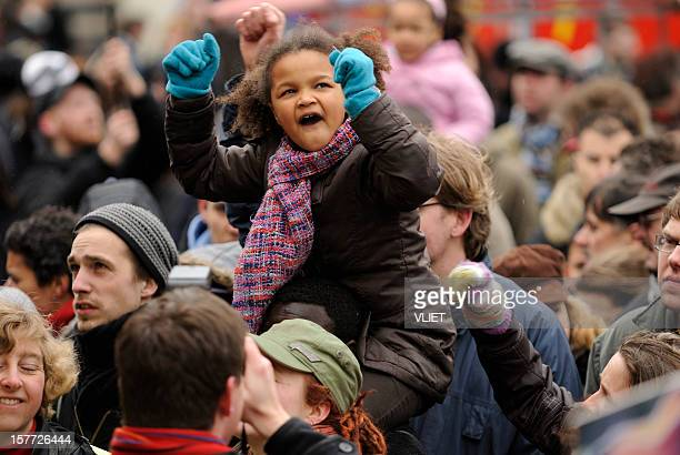 multi-ethnic crowd participating in an anti-racism protest - anti racism stock pictures, royalty-free photos & images