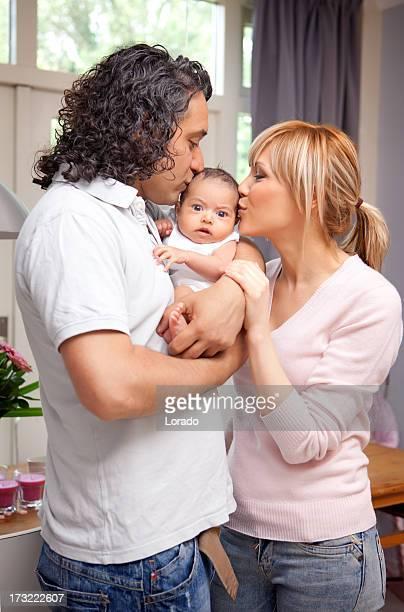 Famille multi-ethnique