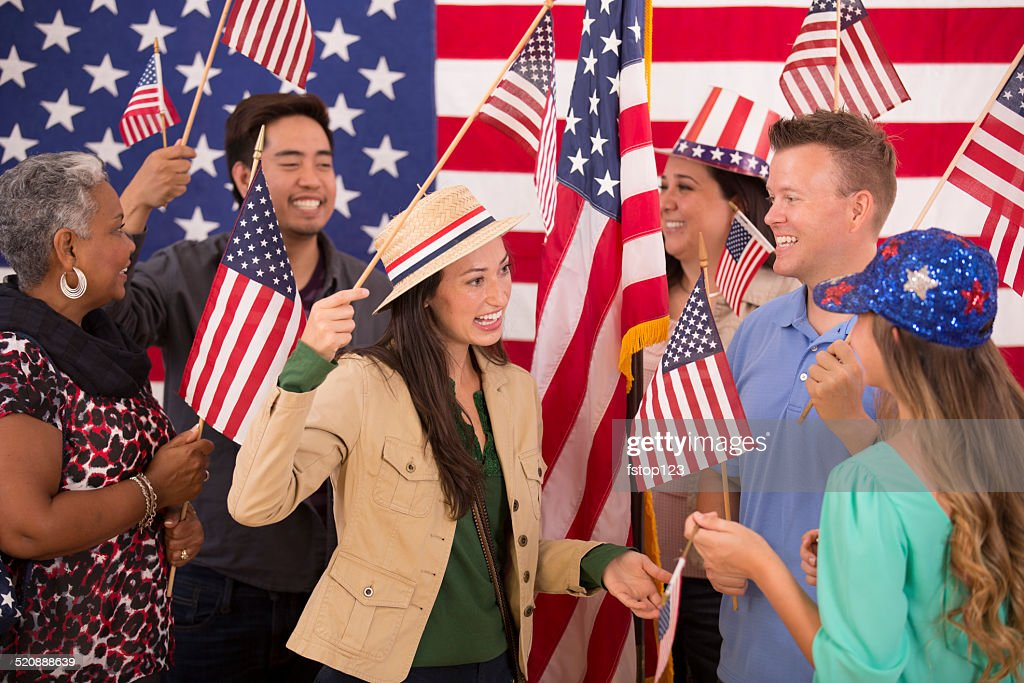 usa american ethnic voting flags political rally multi multiethnic istock embed gettyimages