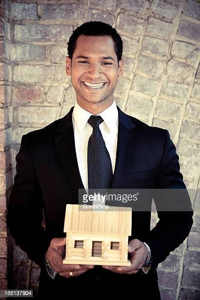 Multiethnic Male Businessman Model Suit