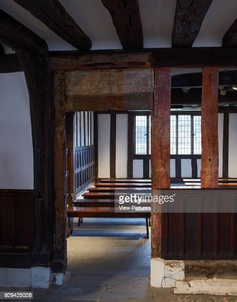 Multifunctional ground floor projection room Shakespeare's Schoolroom StratforduponAvon United Kingdom Architect Wright Wright Architects LLP 2016