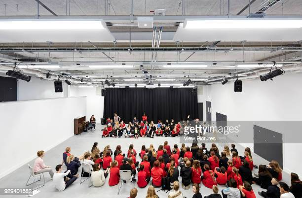 Multifunctional music hall Plymouth Creative School of Art Plymouth United Kingdom Architect Feilden Clegg Bradley Studios LLP 2015