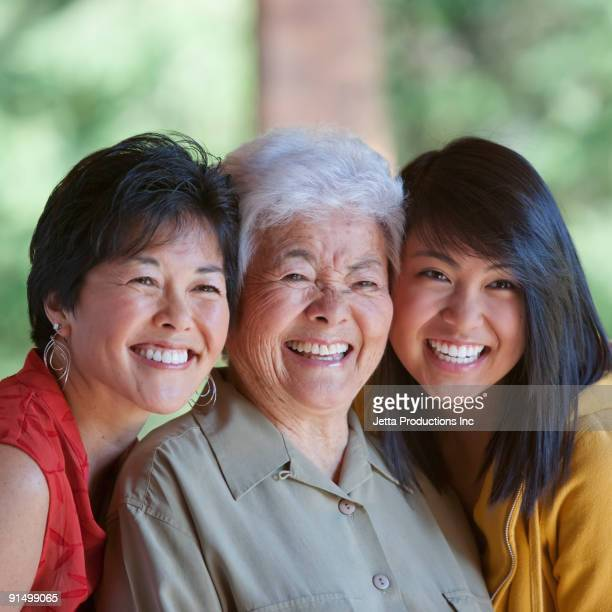 Multi-generation Japanese women