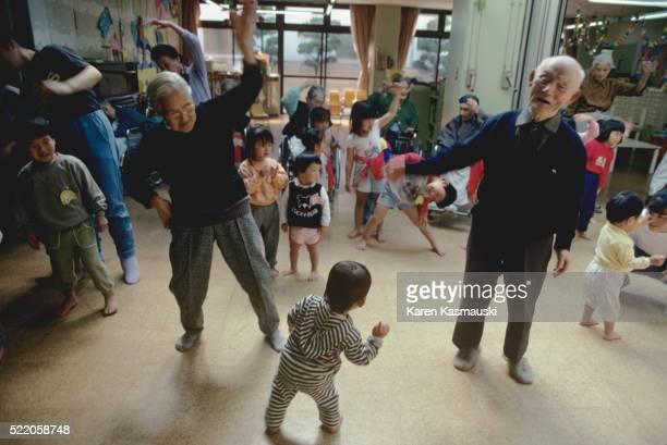 Multi-Generational Daycare in Tokyo