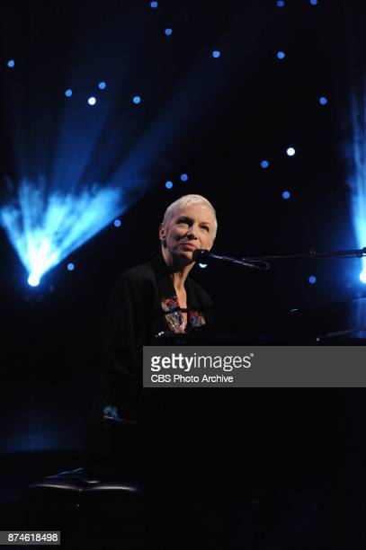 MultiGRAMMY Award winner Annie Lennox performs live on The Talk Tuesday November 7 2017 on the CBS Television Network