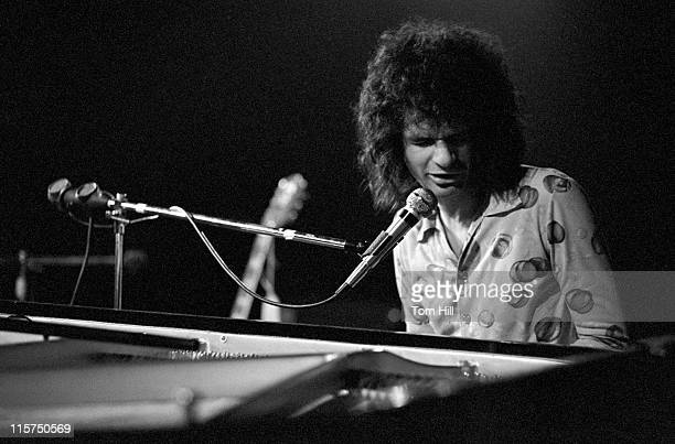 Al Kooper performing at the piano during Al Kooper Plays the Great Southeast Music Hall July 12 1973 at Great Southeast Music Hall in Atlanta Georgia...