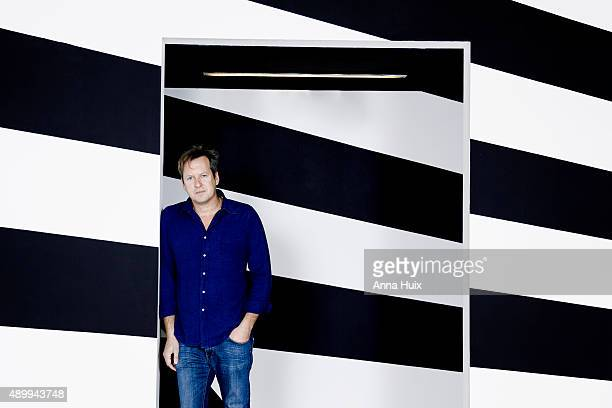Multimedia artist Doug Aitken is photographed for the Financial Times on June 23 2015 in London England