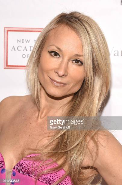 Multimedia artist Indira Cesarine attends the 2018 TriBeCa Ball at New York Academy of Art on April 9 2018 in New York City