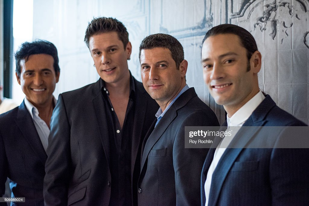 Multinational classical crossover vocal group il divo discusses news photo getty images - Divo music group ...