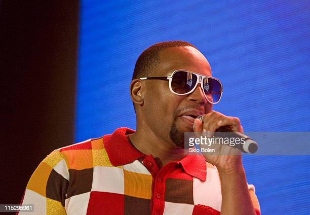 Multiplatinum American RB singer Avant performs at the 2008 Essence Music Festival Day 3 on July 6 2008 in New Orleans Louisiana