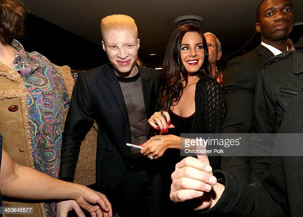 Multiplatinum artist Lana Del Rey and Shaun Ross attend premiere of Tropico at Cinerama Dome at ArcLight Cinemas on December 4 2013 in Hollywood...