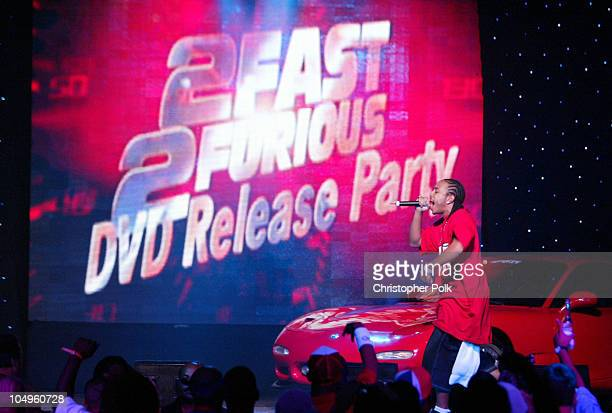MultiPlatinum HipHop artist Ludacris performs live at the '2 Fast 2 Furious' DVD launch event in Rio Grande Puerto Rico