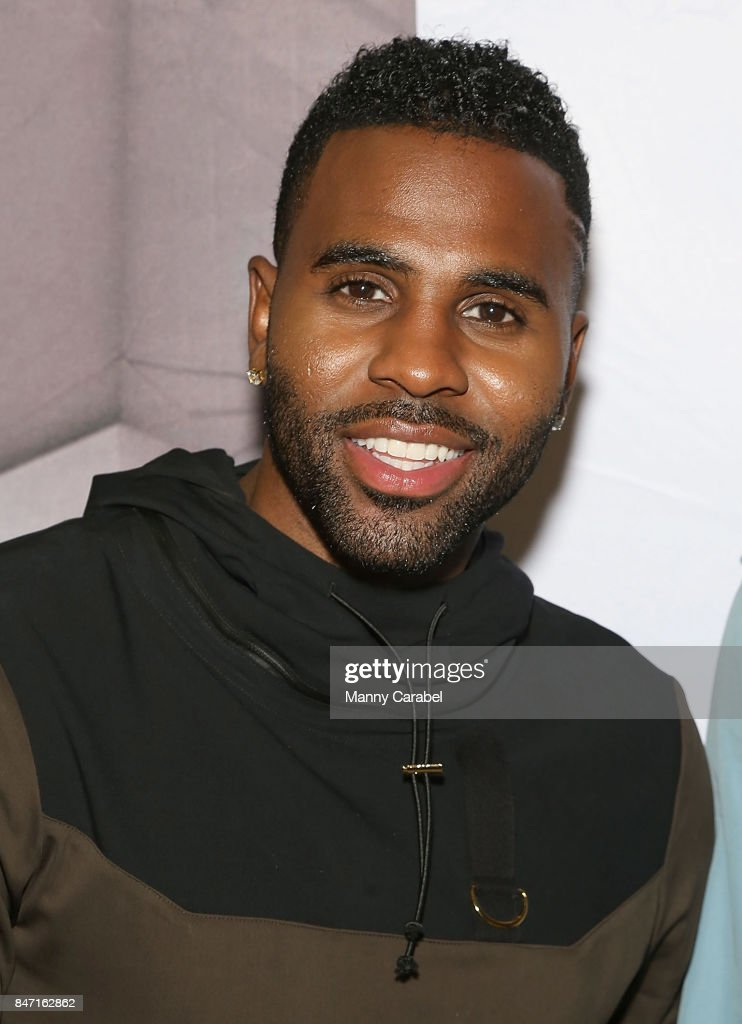 Multi-platinum recording artist Jason Derulo & Designer Antonio Brown partner with Bloomingdale's to roll out Luxury Menswear Line, LVL XIII, in New York at Bloomingdale's on September 14, 2017 in New York City.