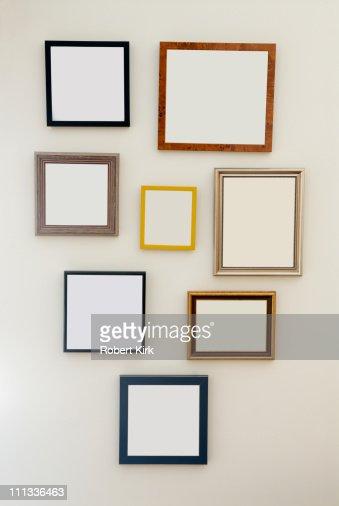 multiple blank frames stock photo getty images - Multiple Image Frame