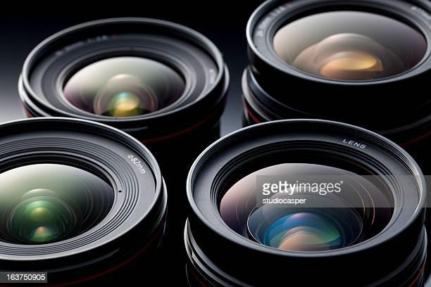 Multiple camera lenses, reflective lenses