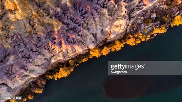 múltiples de color de playa, cerca de berjin - geología fotografías e imágenes de stock