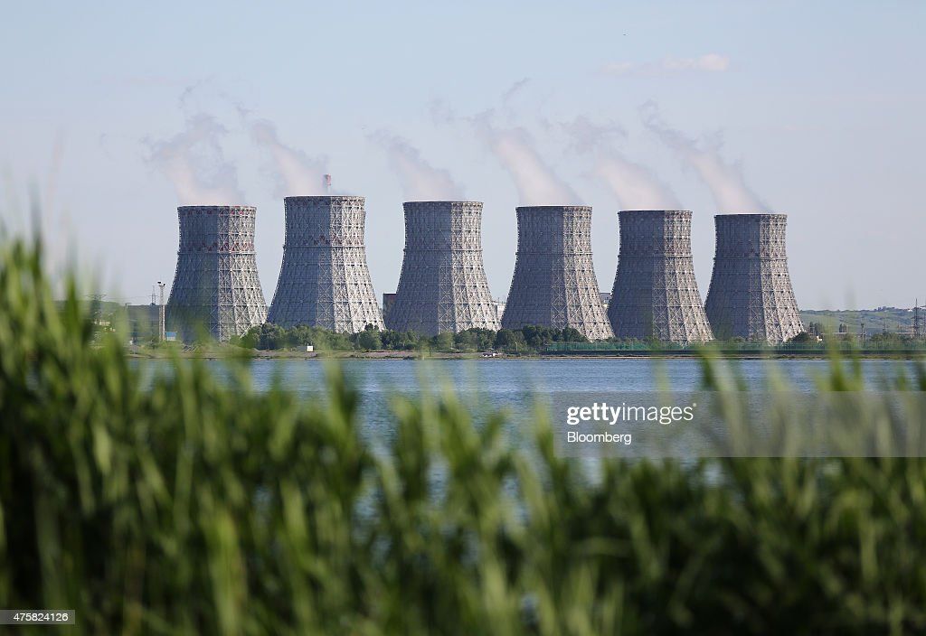 Inside Russia's Novovoronezh NPP And Novovoronezh NPP-2 Nuclear Power Stations : News Photo