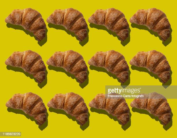 multiple croissant - croissant stock pictures, royalty-free photos & images