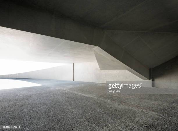 multiple exposure image of the concrete wall - arquitetura imagens e fotografias de stock