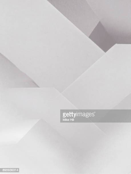 multiple exposure image of the walls of a white room - geometric pattern stock pictures, royalty-free photos & images