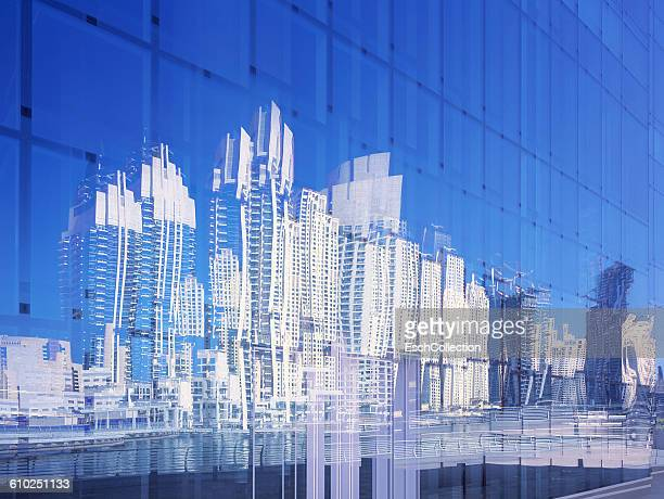 Multiple exposure of high-rise buildings