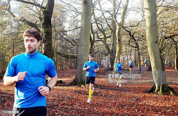 multiple exposure of male athlete running running. - same action stock photos and pictures