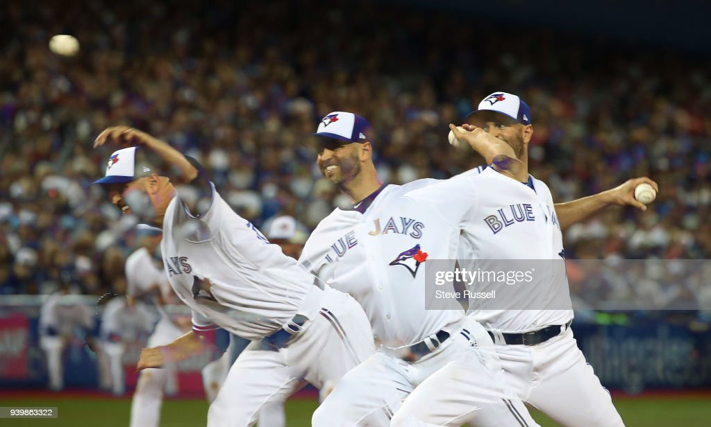 Toronto Blue Jays open the season against the New York Yankees with a 6-1 loss : News Photo