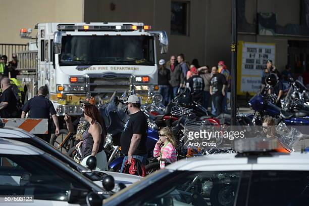 Multiple shootings and a stabbing have been reported at the Denver Coliseum Police spokesman Sonny Jackson said at least two people were shot and one...