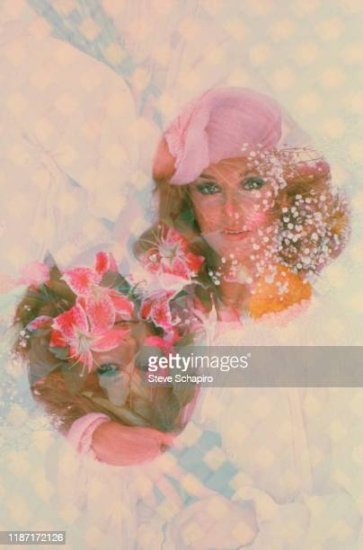 Multipleexposure view of Swedishborn American actress AnnMargret Los Angeles California 1978