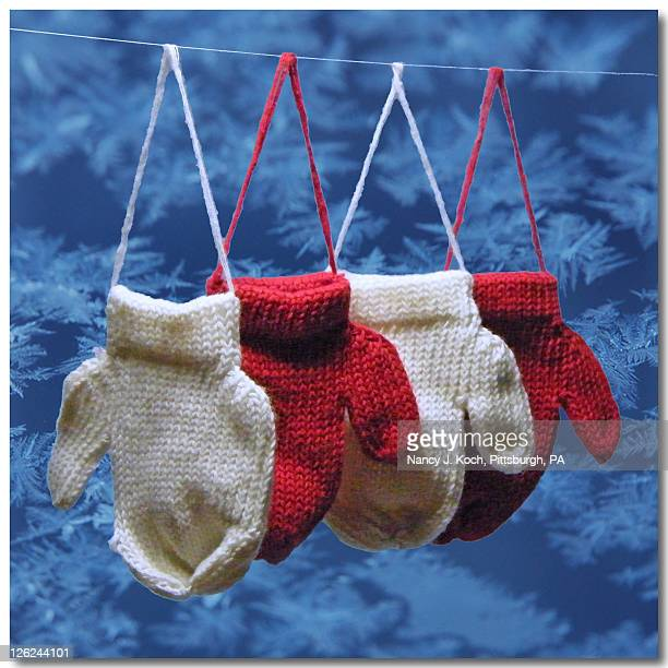 Multiples of Mittens with snowflakes