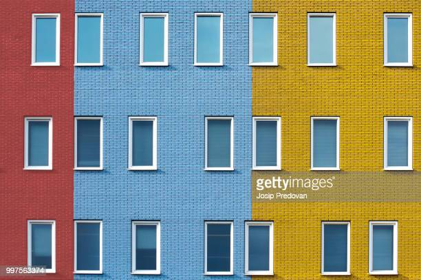 multiplicity - brick house stock pictures, royalty-free photos & images