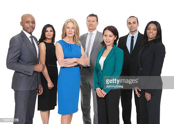 Multiracial ビジネスチーム