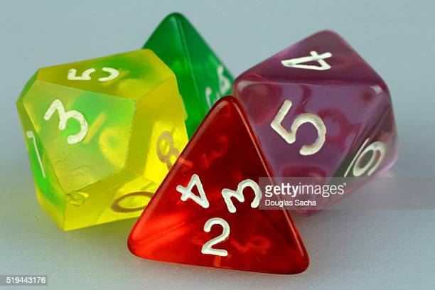 Multi-Sided Colorful Dice