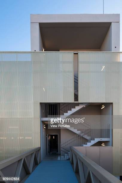 MultiStorey Car Park And Bus Station University of the Basque Country Leioa Spain Architect Jaam Sociedad de Arquitectura/ Ander Marquet Ryan 2013...