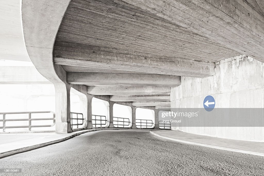Multi-storey car-park : Stock Photo