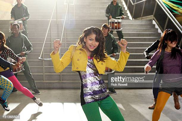 GAMES Multitalented actress and singer Zendaya from Disney Channel's hit series 'Shake It Up' performs the theme song for the upcoming animated...