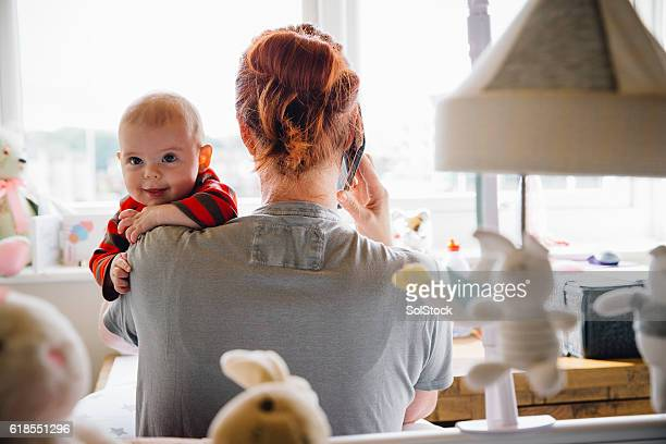 Multi-Tasking Mother