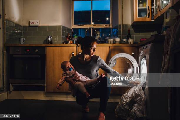 multi-tasking mother - jet lag stock pictures, royalty-free photos & images