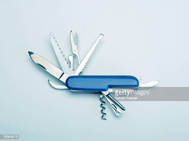 Multi-tool penknife, close-up